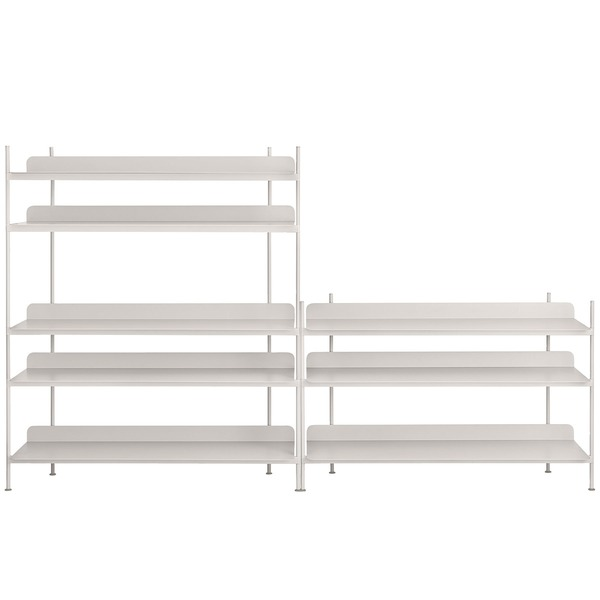 Muuto - Compile Shelving System (Config. 7), grau