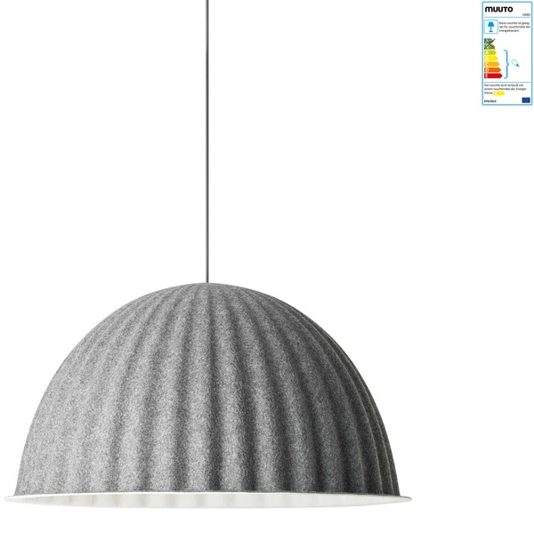 Muuto - Under the Bell Pendelleuchte, grau