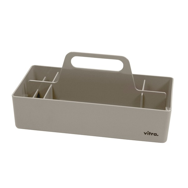 Vitra - Storage Toolbox, warm grau
