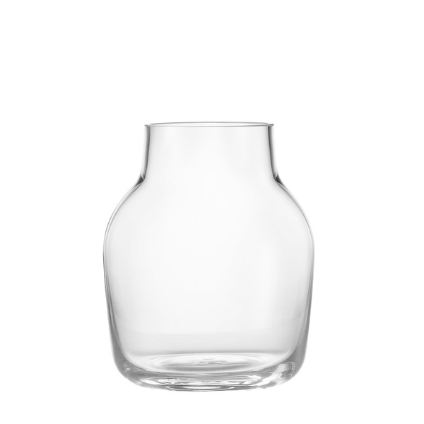 Muuto - Silent Vase, small, transparent