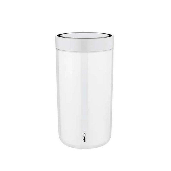 Stelton Thermobecher To Go Click steel chalk 200ml, H 14cm
