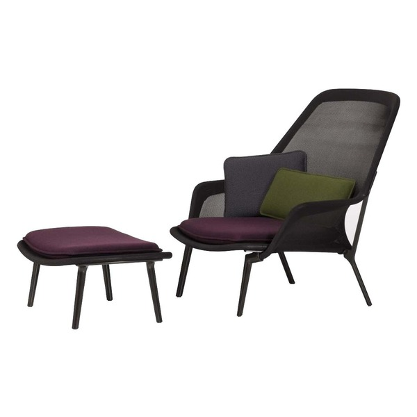 Slow Chair Lounge Chair & Ottoman