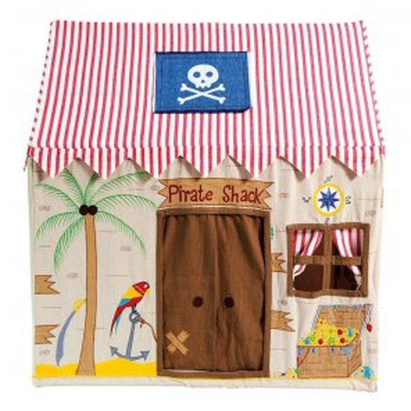 Win Green Spielhaus Kinderhaus Piraten Hütte Pirate Shack