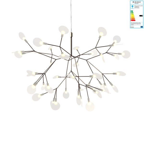 Moooi - Heracleum II small Pendelleuchte, Nickel