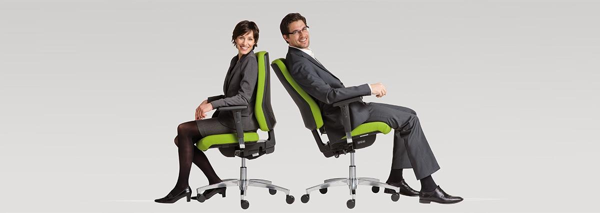 Ergonomie am Arbeitsplatz – so sitzt Ihr richtig!